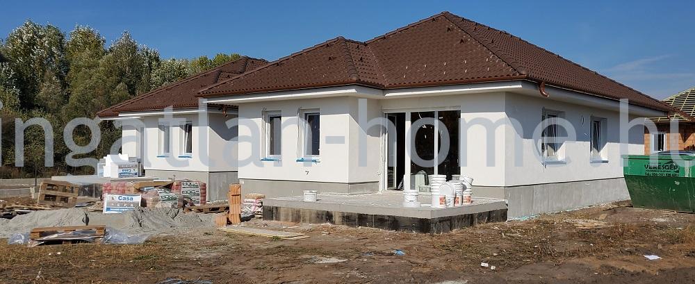 Vácrátót újonnan épülő lakóparkjában eladó új építésű ingatlanok
