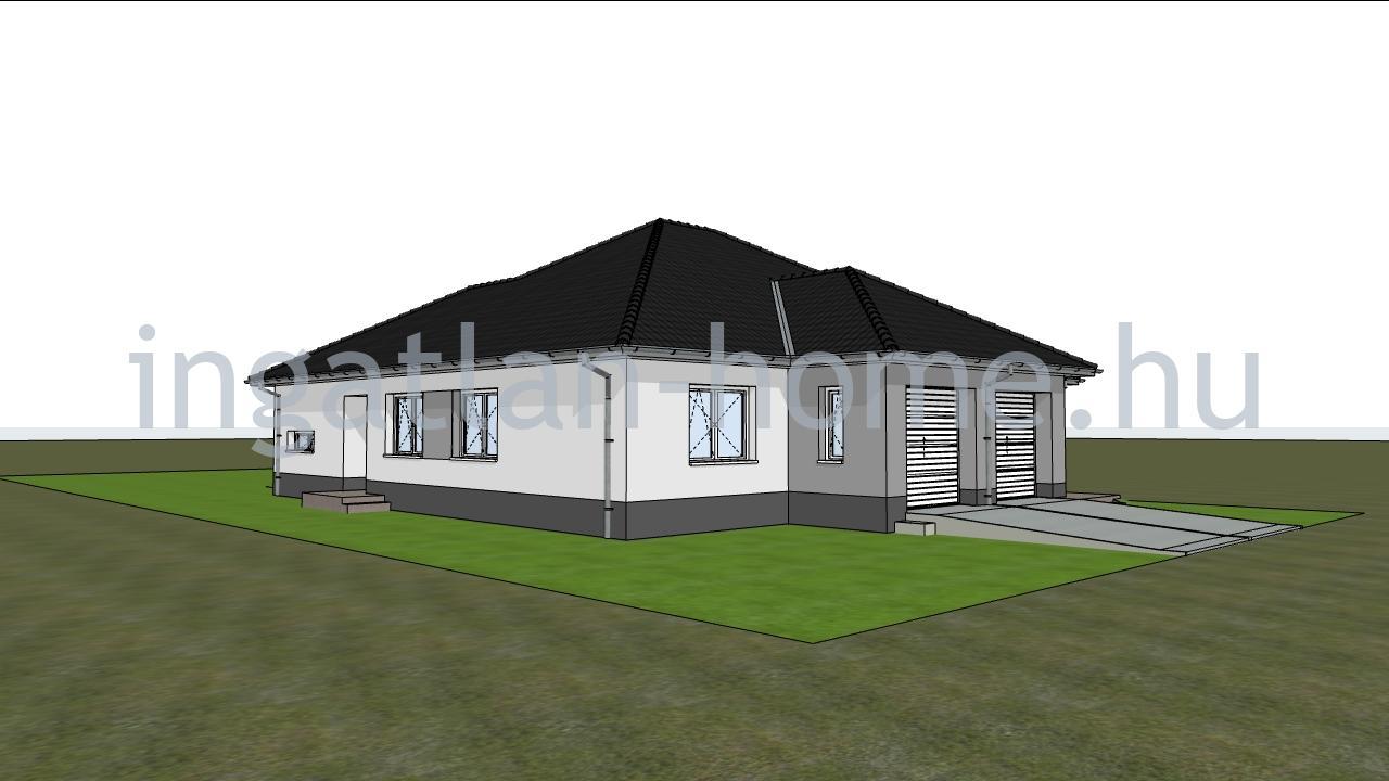 Eladó Fót újszerű környezetében új építésű 4-5 szobás ikerházak garázzsal!